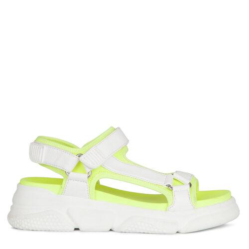 Бело-зеленые женские сандалии. 5 990₽