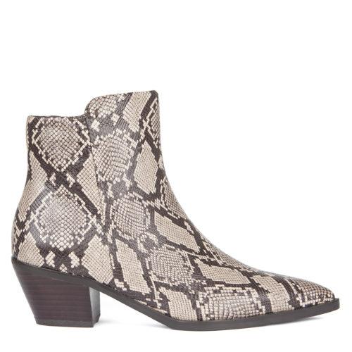 Женские ботинки с принтом под питона 7 990 руб