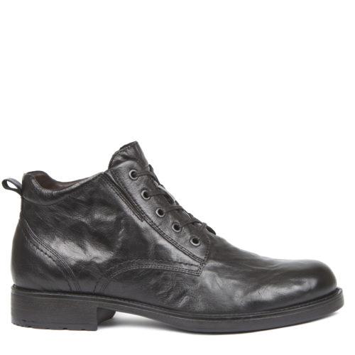 Мужские зимние ботинки из кожи. 14 990 руб.
