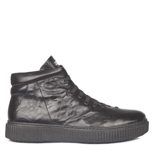 Черные мужские ботинки на эластиках. 13 990 руб.